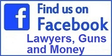Lawyers, Guns and Money on Facebook