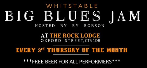 Ry Robson's Open Blues Jam - Third Thursday at the Rock Lodge