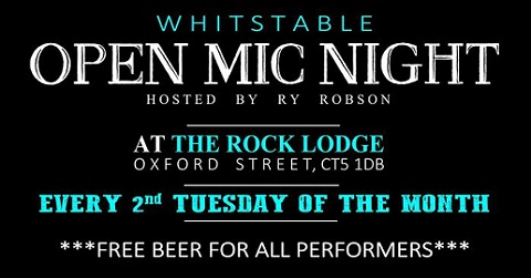 Rock Lodge Open Mic with Ry Robson - First Wednesday